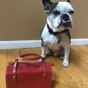 Kate Spade Red Small Satchel